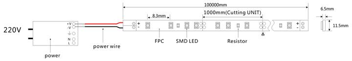 灯带功率放大器电路图